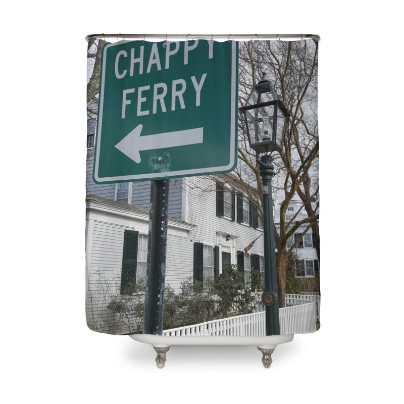 Chappy Ferry Home Shower Curtain by visitmv's Shop