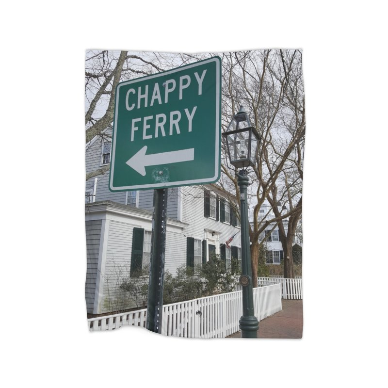 Chappy Ferry Home Blanket by visitmv's Shop