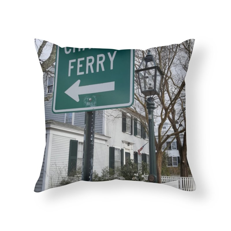 Chappy Ferry Home Throw Pillow by visitmv's Shop
