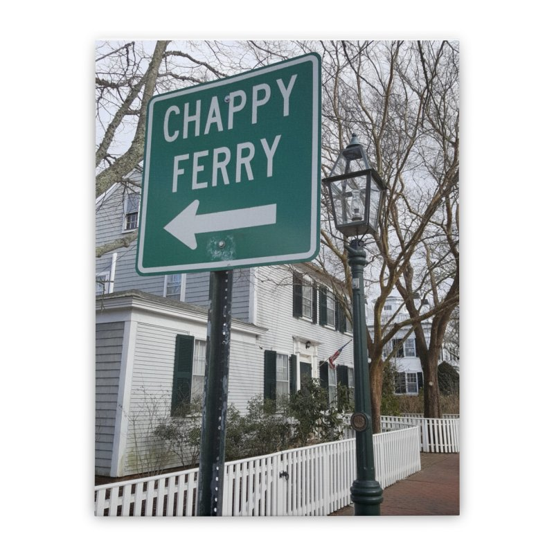 Chappy Ferry Home Stretched Canvas by visitmv's Shop