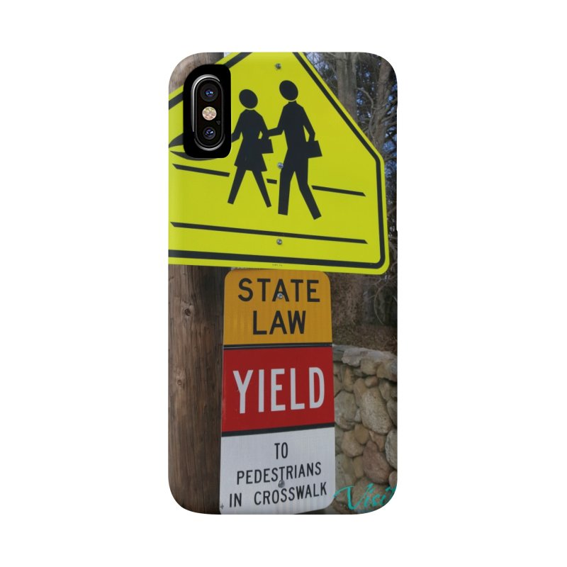 Pedestrian Crossing Accessories Phone Case by visitmv's Shop