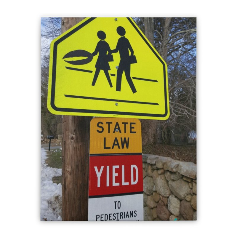 Pedestrian Crossing Home Stretched Canvas by visitmv's Shop