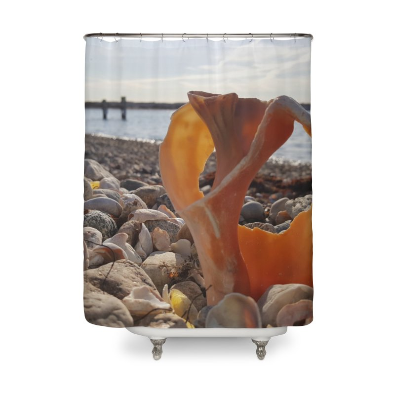 A Shell's Life Home Shower Curtain by visitmv's Shop