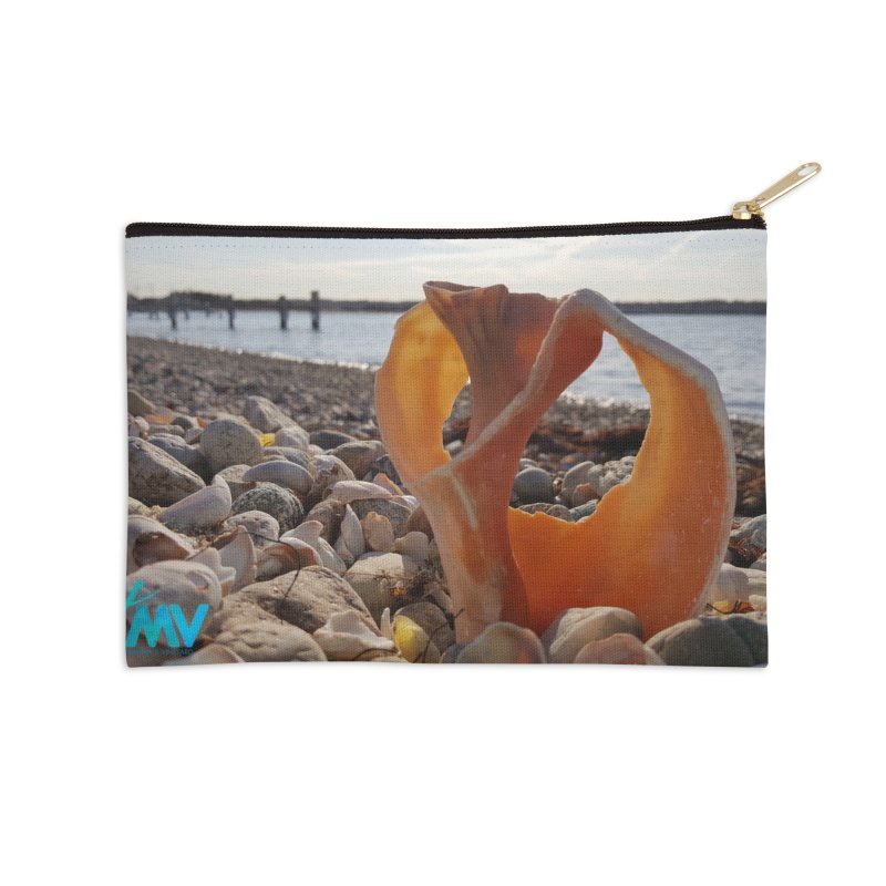 A Shell's Life Accessories Zip Pouch by visitmv's Shop