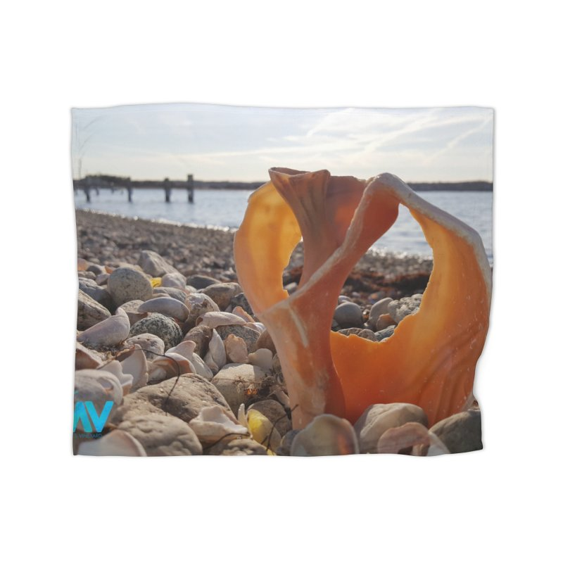 A Shell's Life Home Blanket by visitmv's Shop