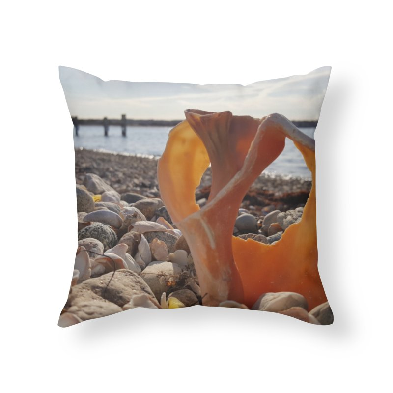 A Shell's Life Home Throw Pillow by visitmv's Shop