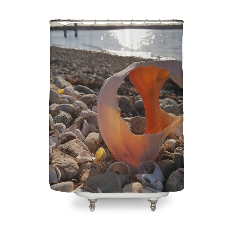 A Day on the Beach Home Shower Curtain by visitmv's Shop