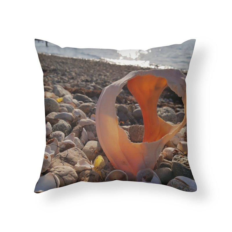 A Day on the Beach Home Throw Pillow by visitmv's Shop