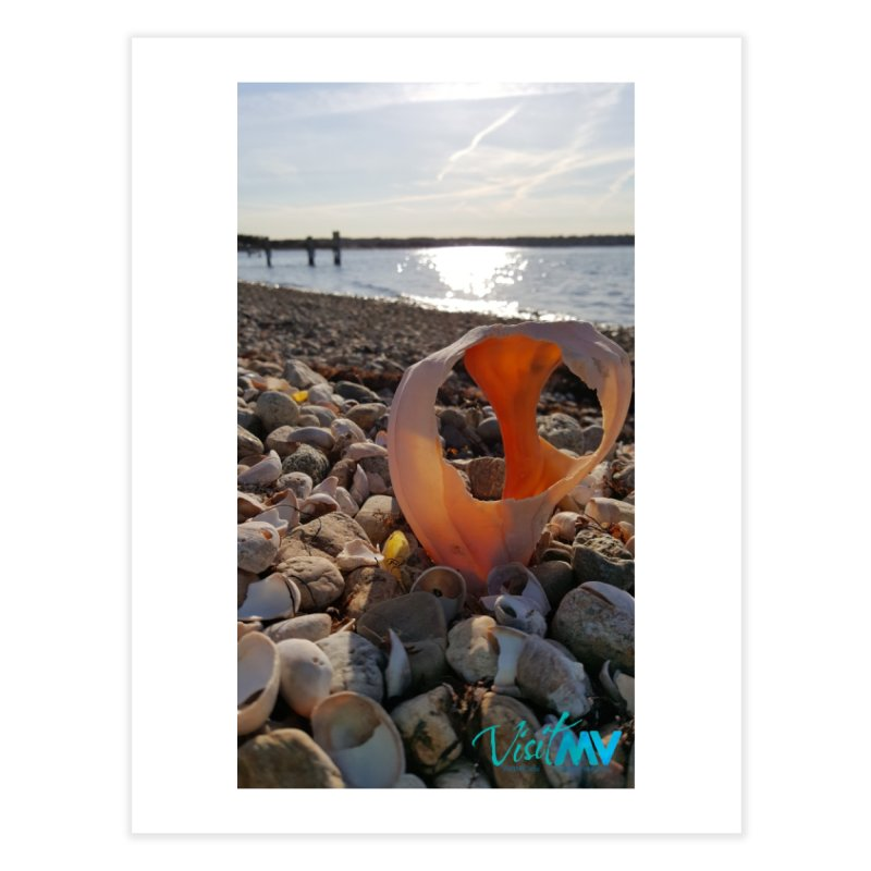 A Day on the Beach Home Fine Art Print by visitmv's Shop