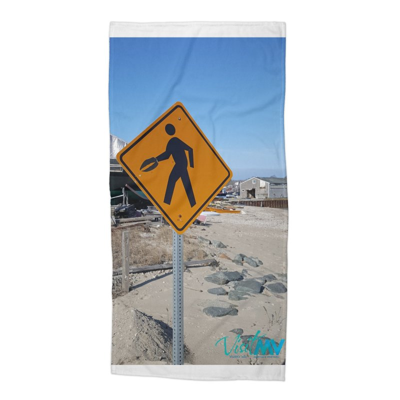Pedestrian with Claw Accessories Beach Towel by visitmv's Shop