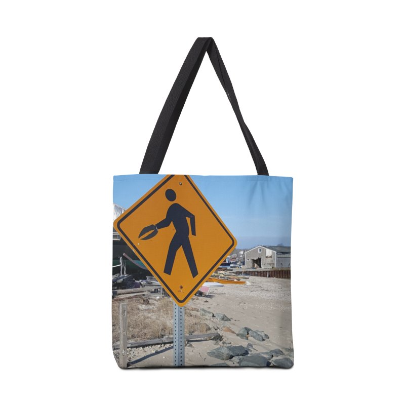 Pedestrian with Claw Accessories Bag by visitmv's Shop