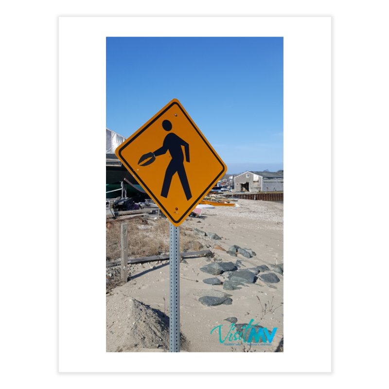 Pedestrian with Claw Home Fine Art Print by visitmv's Shop