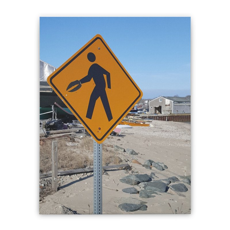 Pedestrian with Claw Home Stretched Canvas by visitmv's Shop