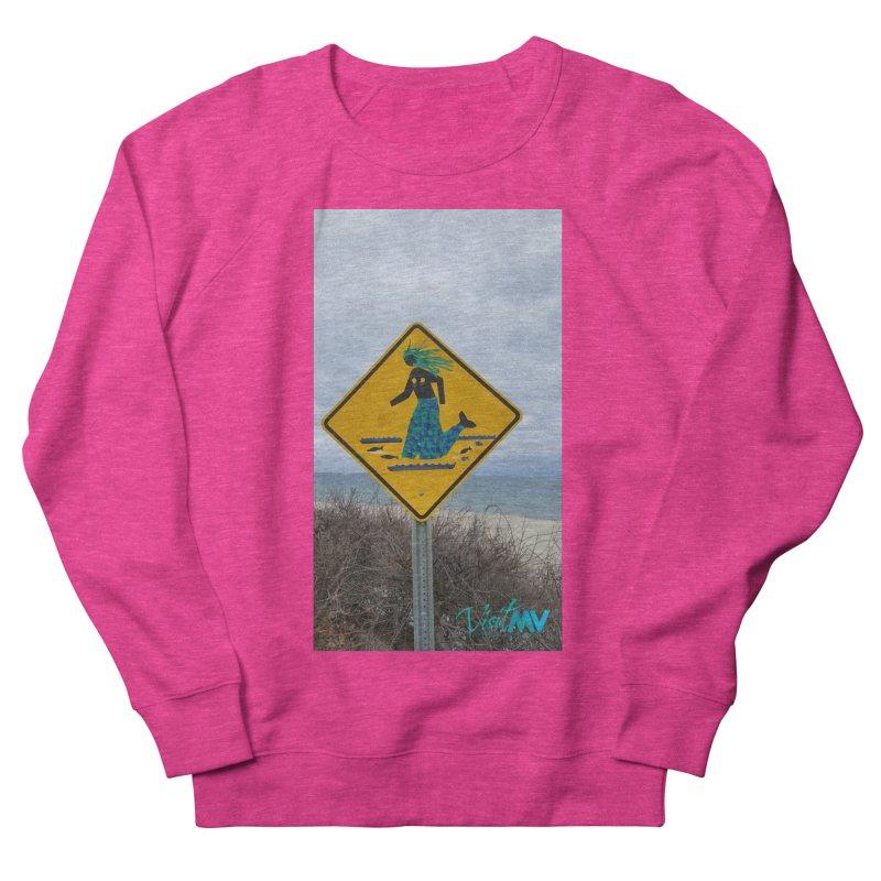Mermaid Crossing Women's Sweatshirt by visitmv's Shop