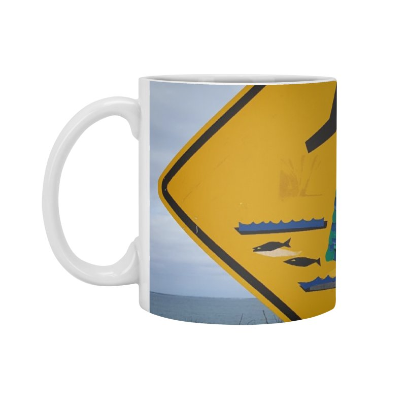 Mermaid Crossing Accessories Mug by visitmv's Shop
