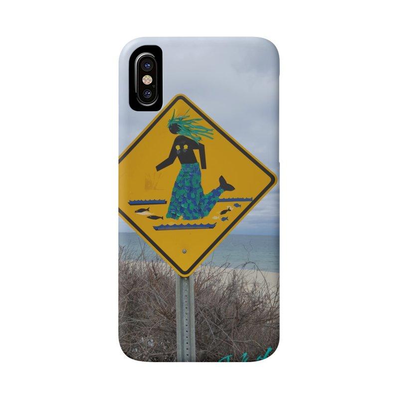 Mermaid Crossing Accessories Phone Case by visitmv's Shop