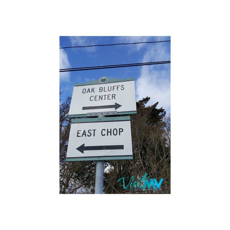 Oak Bluffs Road Signs None  by visitmv's Shop