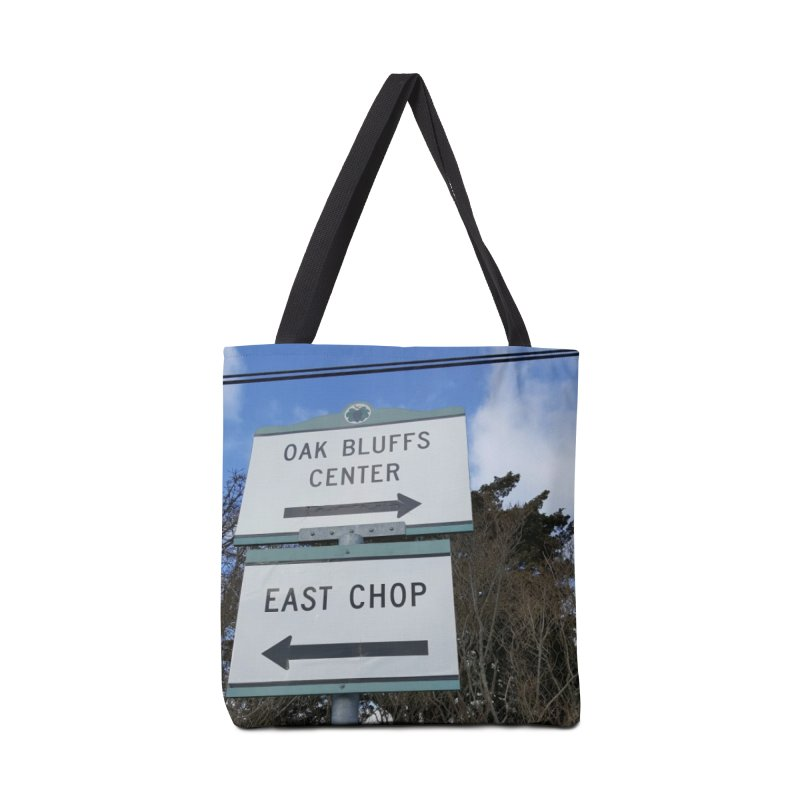 Oak Bluffs Road Signs Accessories Bag by visitmv's Shop