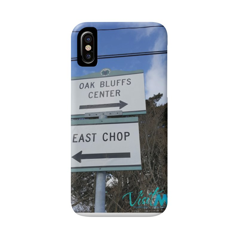 Oak Bluffs Road Signs Accessories Phone Case by visitmv's Shop