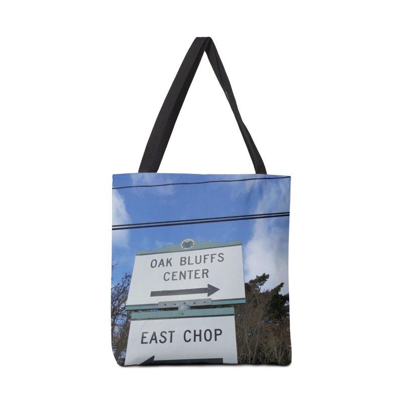 Oak Bluffs Road Signs Accessories Bag by visitmv's Shop
