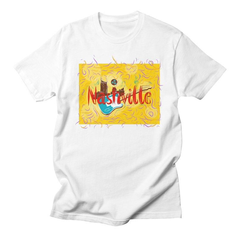 Nashville Men's T-Shirt by VisualChipsters