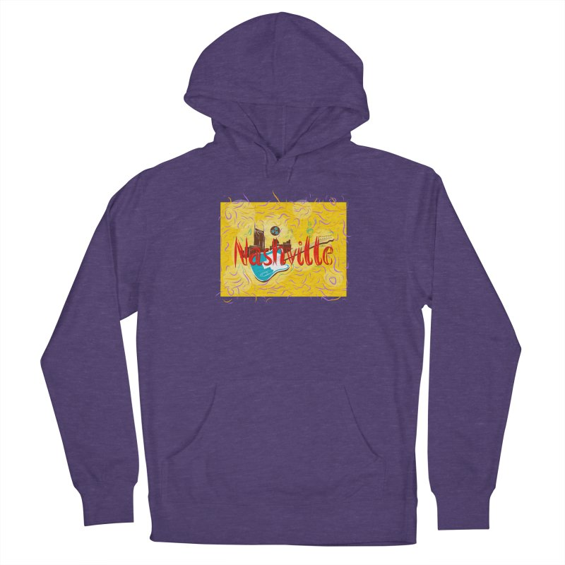 Nashville Women's Pullover Hoody by VisualChipsters