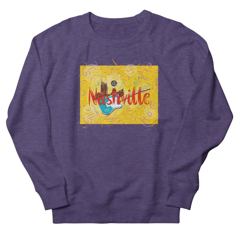 Nashville Women's Sweatshirt by VisualChipsters