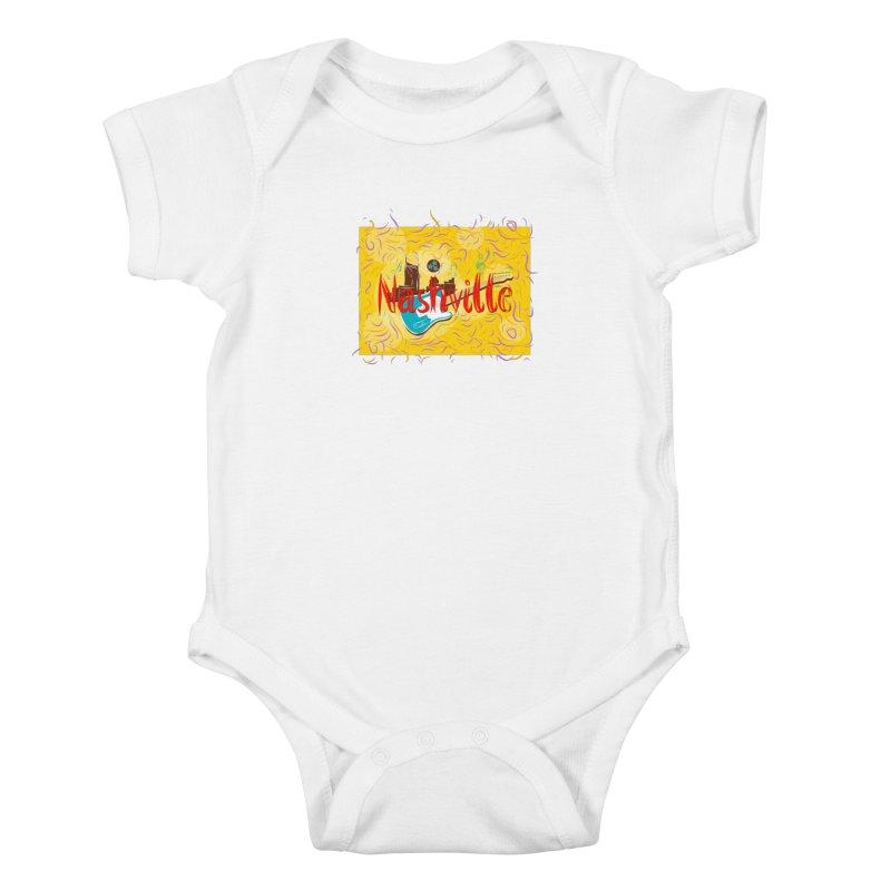 Nashville Kids Baby Bodysuit by VisualChipsters