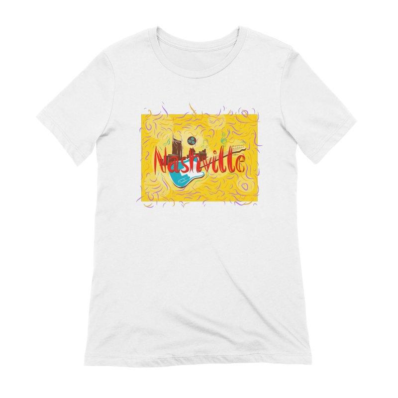 Nashville Women's T-Shirt by VisualChipsters