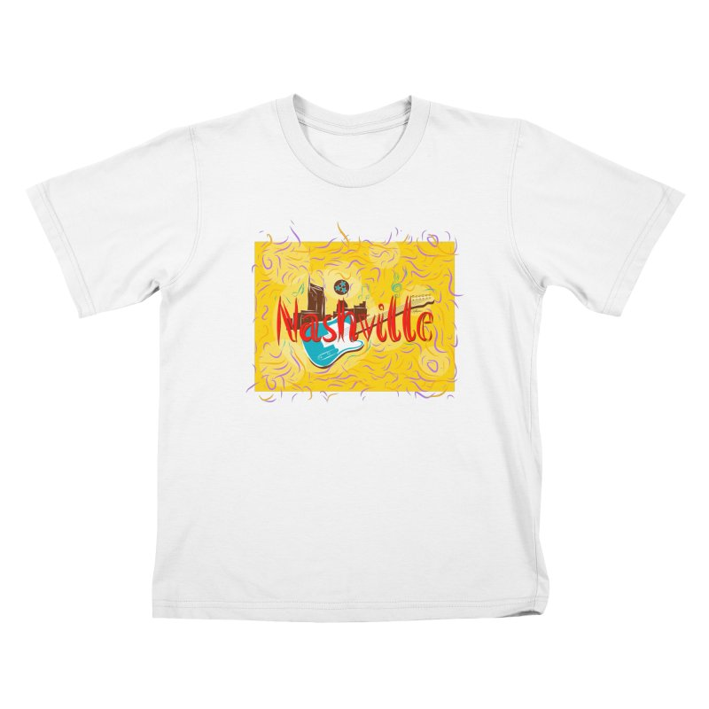 Nashville Kids T-Shirt by VisualChipsters