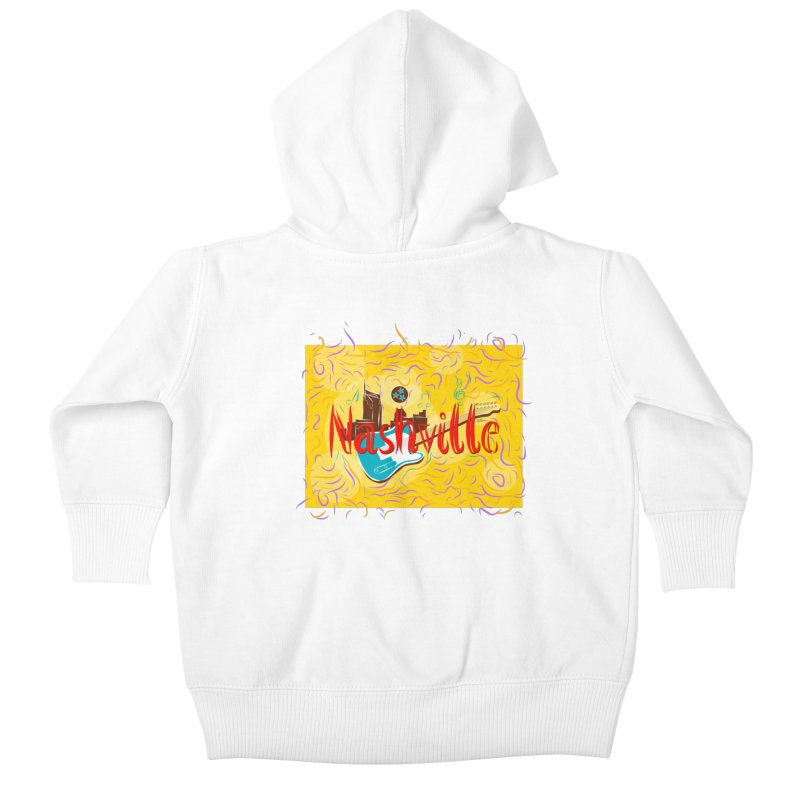 Nashville Kids Baby Zip-Up Hoody by VisualChipsters