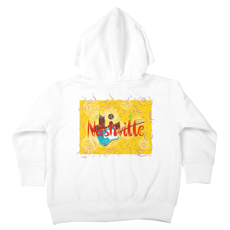 Nashville Kids Toddler Zip-Up Hoody by VisualChipsters