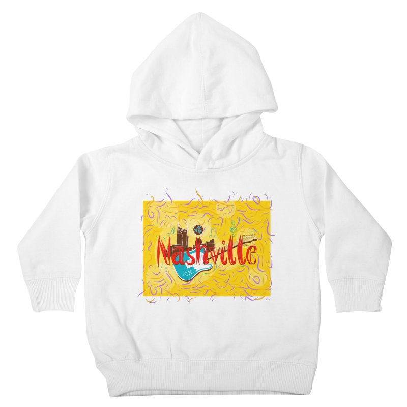 Nashville Kids Toddler Pullover Hoody by VisualChipsters