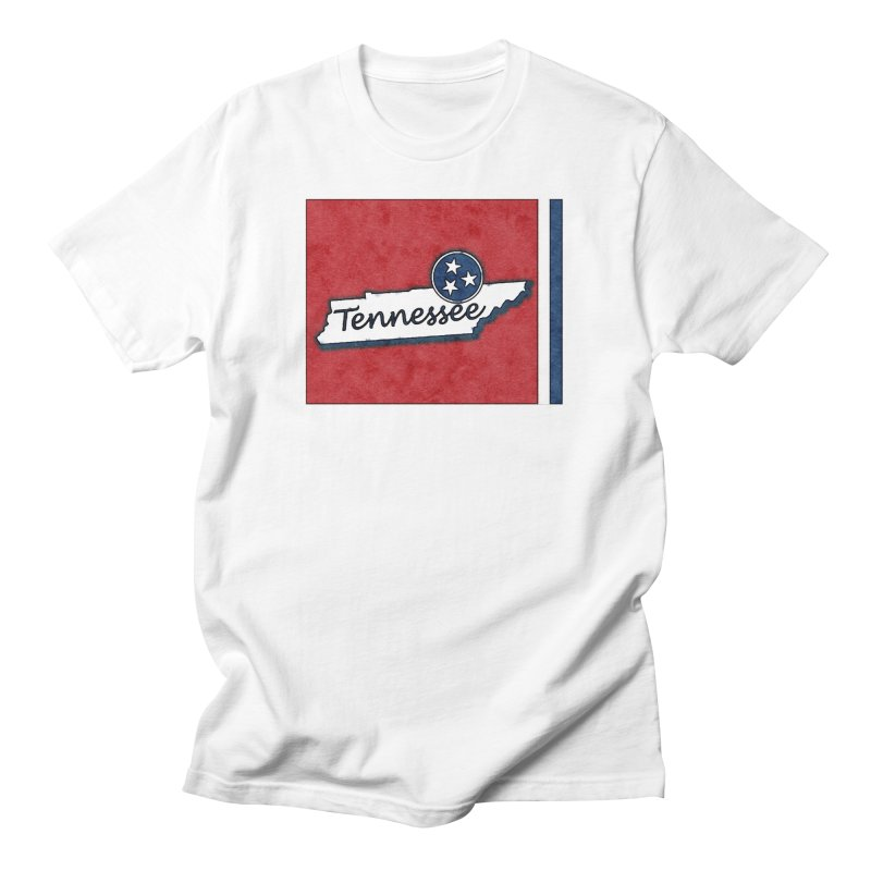 Tennessee Men's T-Shirt by VisualChipsters