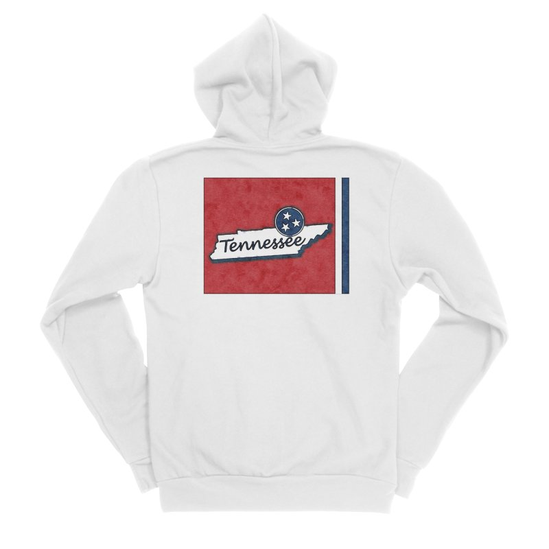 Tennessee Men's Zip-Up Hoody by VisualChipsters