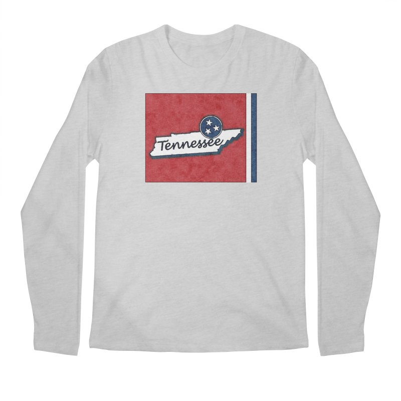 Tennessee Men's Longsleeve T-Shirt by VisualChipsters