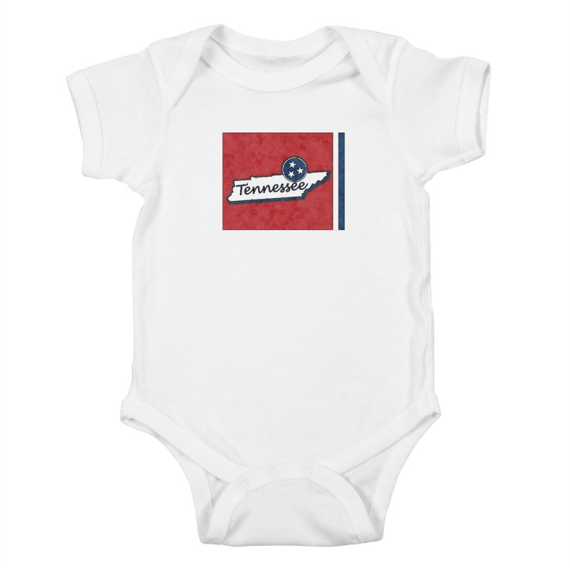 Tennessee Kids Baby Bodysuit by VisualChipsters