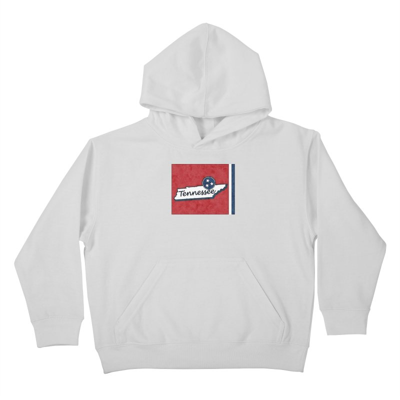 Tennessee Kids Pullover Hoody by VisualChipsters