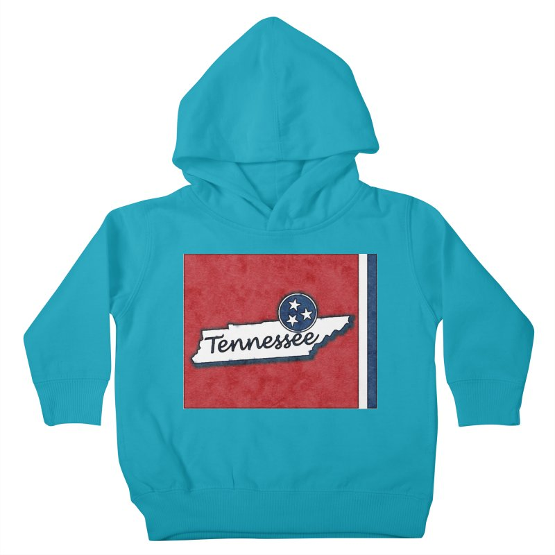 Tennessee Kids Toddler Pullover Hoody by VisualChipsters