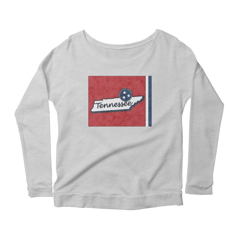 Tennessee Women's Longsleeve T-Shirt by VisualChipsters