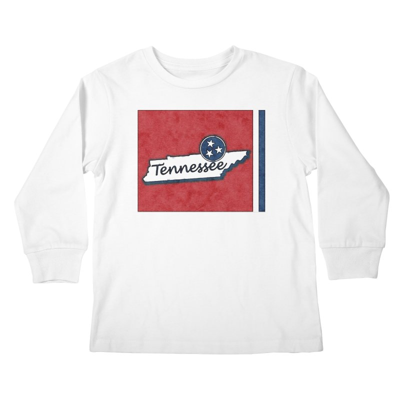 Tennessee Kids Longsleeve T-Shirt by VisualChipsters