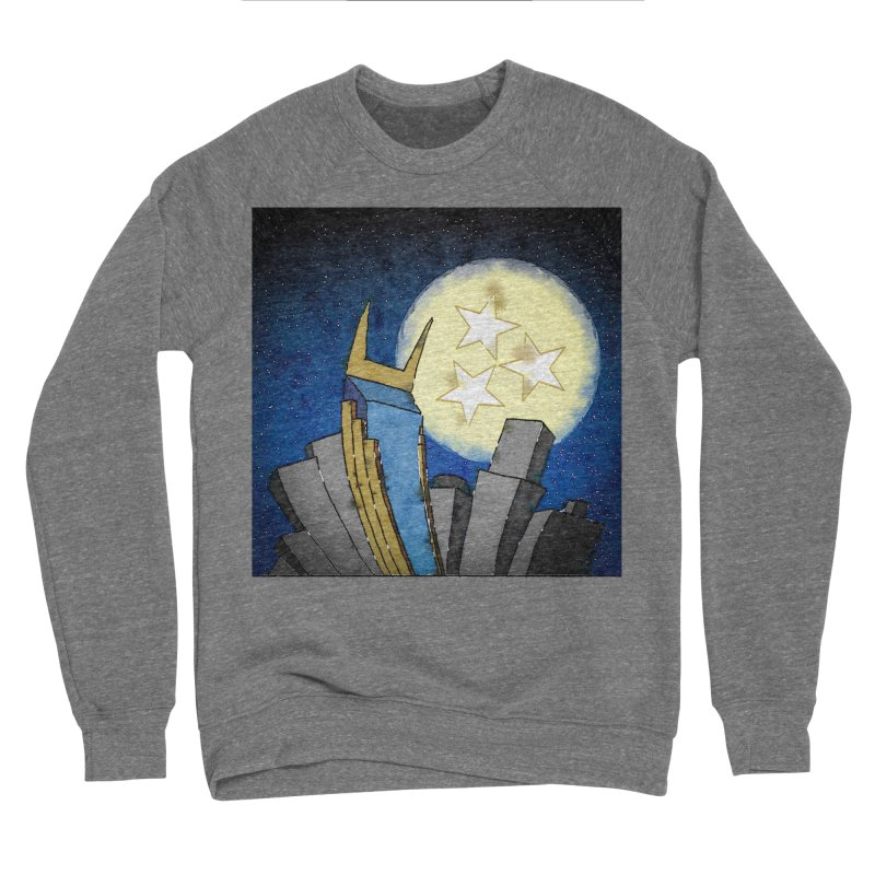 Tennessee Moon over Nashville Women's Sweatshirt by VisualChipsters