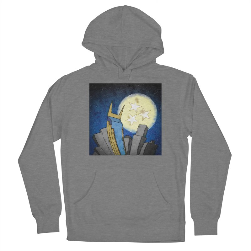 Tennessee Moon over Nashville Men's Pullover Hoody by VisualChipsters