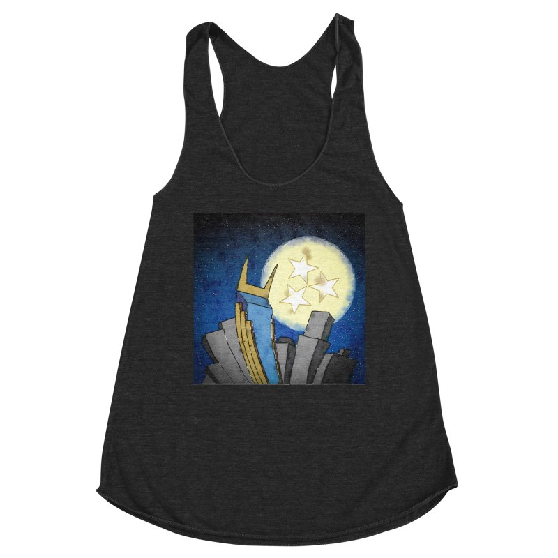 Tennessee Moon over Nashville Women's Tank by VisualChipsters