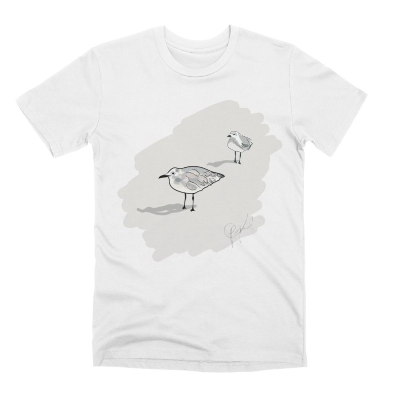 Seagulls Men's T-Shirt by VisualChipsters