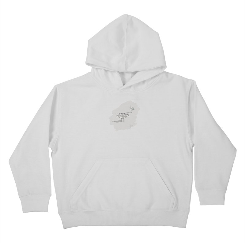 Seagulls Kids Pullover Hoody by VisualChipsters