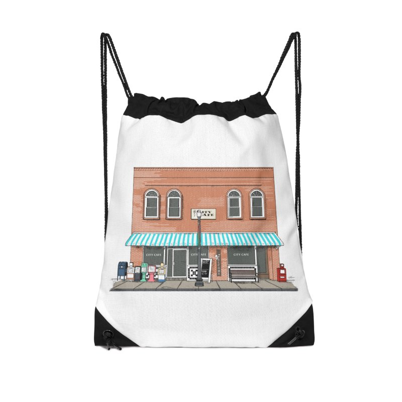 City Cafe Accessories Bag by VisualChipsters