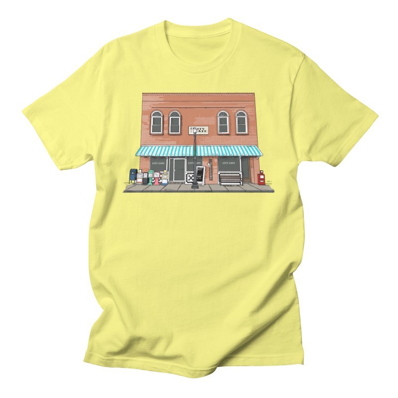 City Cafe Women's T-Shirt by VisualChipsters
