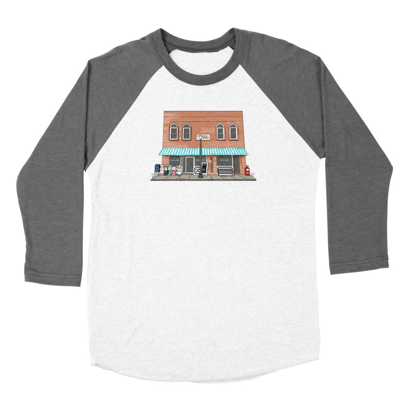 City Cafe Women's Longsleeve T-Shirt by VisualChipsters