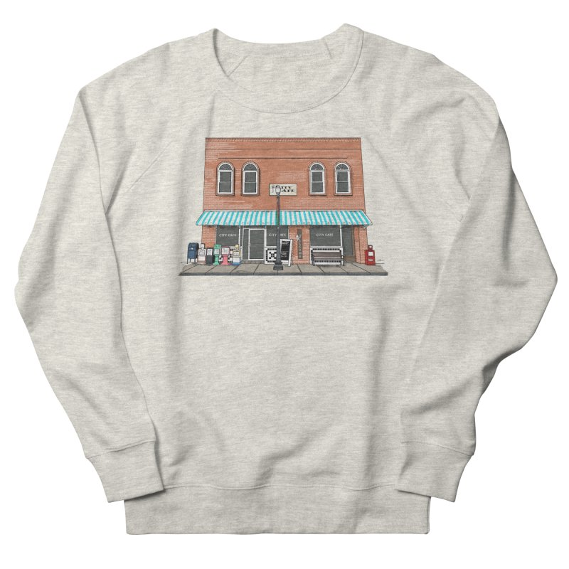 City Cafe Women's Sweatshirt by VisualChipsters